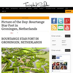 Bourtange Star Fort in Groningen, Netherlands