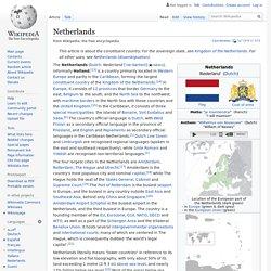 Netherlands - Wikipedia