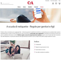Netiquette - Regole di comportamento online