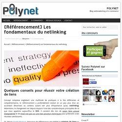 Conseils pour un netlinking efficace - Référencement/SEO