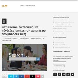 Netlinking : 30 techniques révélées par les top experts du SEO !