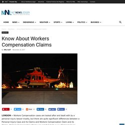 Know About Workers Compensation Claims