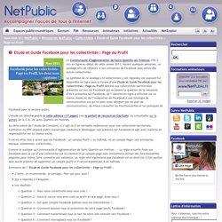 Etude et Guide Facebook pour les collectivités : Page ou Profil