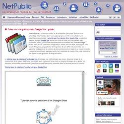 Créer un site gratuit avec Google Site : guide