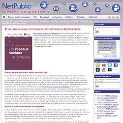 Les réseaux sociaux et l'entreprise, livre de Clémence Bertrand-Jaume