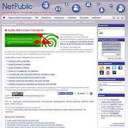 Guides Web 2.0 pour l'entreprise