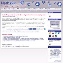 StudS, logiciel libre pour créer des sondages afin de trouver une date à plusieurs