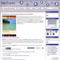 OpenPhoto : Gérer ses photos en ligne via un service libre
