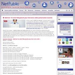 Maîtriser 10 outils Web gratuits pour faire de la veille (présentation tutoriel)