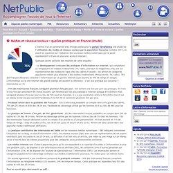 Médias et réseaux sociaux : quelles pratiques en France (étude)