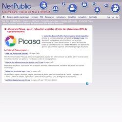 4 tutoriels Picasa : gérer, retoucher, exporter et faire des diaporamas (EPN de Gond Pontouvre)