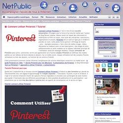 Comment utiliser Pinterest ? Tutoriel