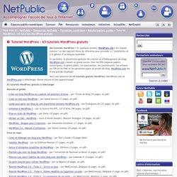 Tutoriel WordPress : 65 tutoriels WordPress gratuits