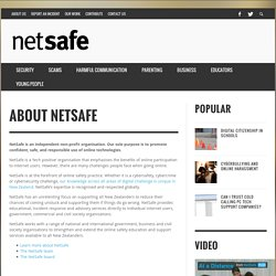 NetSafe: Cybersafety and Security advice for New Zealand