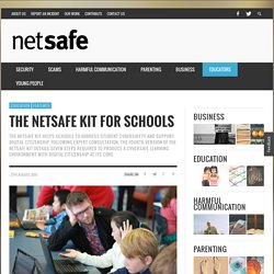 The NetSafe Kit for Schools - NetSafe: Cybersafety and Security advice for New Zealand