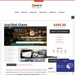 Just Dial Clone – i-Netsolution – Readymade PHP Scripts