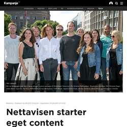 Nettavisen starter eget content marketing-byrå