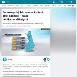 Suomen pohjoisimmassa kylässä alkoi kaamos – katso nettikameralähetystä