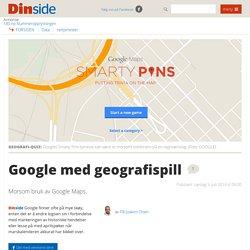 Nettjenester: Google med geografispill