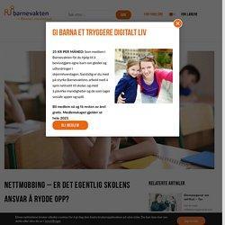 Nettmobbing – er det egentlig skolens ansvar å rydde opp?