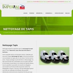 Nettoyage de Tapis - Nettoyage Impérial, Recommandé CAA