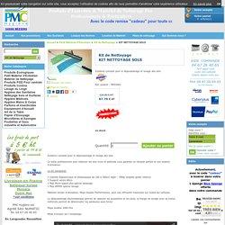 Kit Nettoyage ,Microfibre Sols, Achat/Vente Kit vitres ,Concept Microfibre - PMC Hygiene