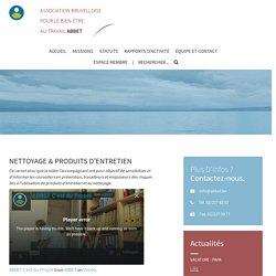 Nettoyage & Produits d'entretien - ABBET