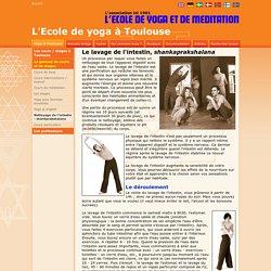 Nettoyage / lavage de l'intestin, shankprakshalana, à Toulouse / Paris / Ariège