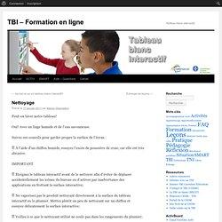 TBI – Formation en ligne