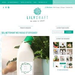 GEL nettoyant WC facile et efficace! – Lilycraft