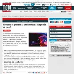 Nettoyer et graisser sa chaîne moto : à la portée de tous (...) - Moto Magazine