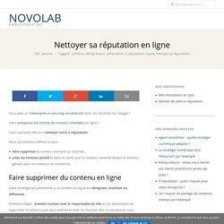 Nettoyer sa réputation en ligne – NovoLaB
