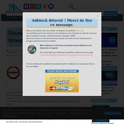 Dism++ : Nettoyer Windows facilement