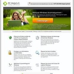 PC Cleaner - Nettoyez votre PC en quelques minutes ! - PC HelpSoft