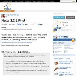Netty 3.2.3.Final