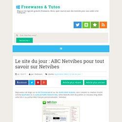 Le site du jour : ABC Netvibes pour tout savoir sur Netvibes ~ Freewares & Tutos