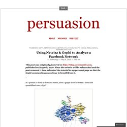 Using Netvizz & Gephi to Analyze a Facebook Network « persuasion