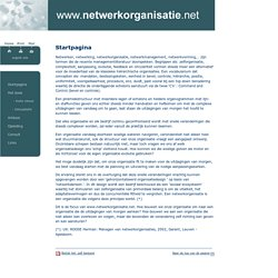 www.netwerkorganisatie.net