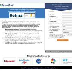 Retina Network Community - BeyondTrust