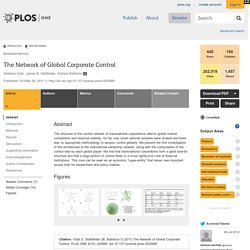 The Network of Global Corporate Control