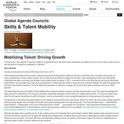 Skills & Talent Mobility – WEF Reports – Global Agenda Council 2012