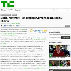 Social Network For Traders Currensee Raises $8 Million