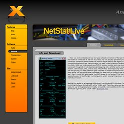 Network Downloads : NetStat Live