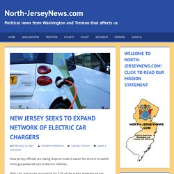 New Jersey Seeks To Expand Network Of Electric Car Chargers