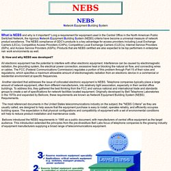 NEBS Network Equipment Building System