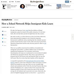 How a School Network Helps Immigrant Kids Learn
