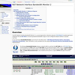 NST Network Interface Bandwidth Monitor 2 - NST Wiki