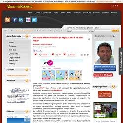 Un Social Network italiano per ragazzi da 8 a 14 anni: WE:P