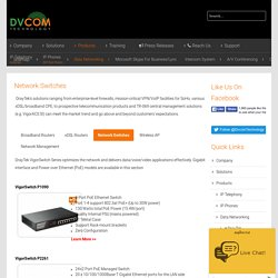 Network Switch Manufacturers, Buy Best Network Switches