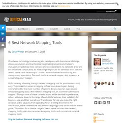 6 Best Network Mapping Tools—SolarWinds